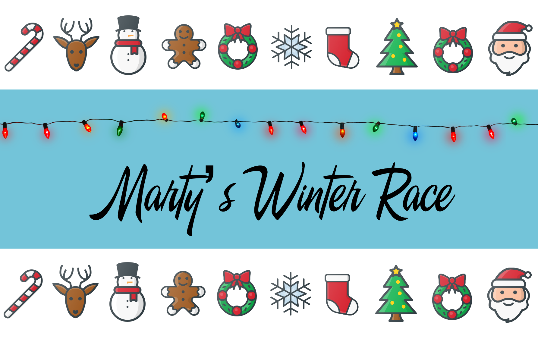 winter race lesson pack