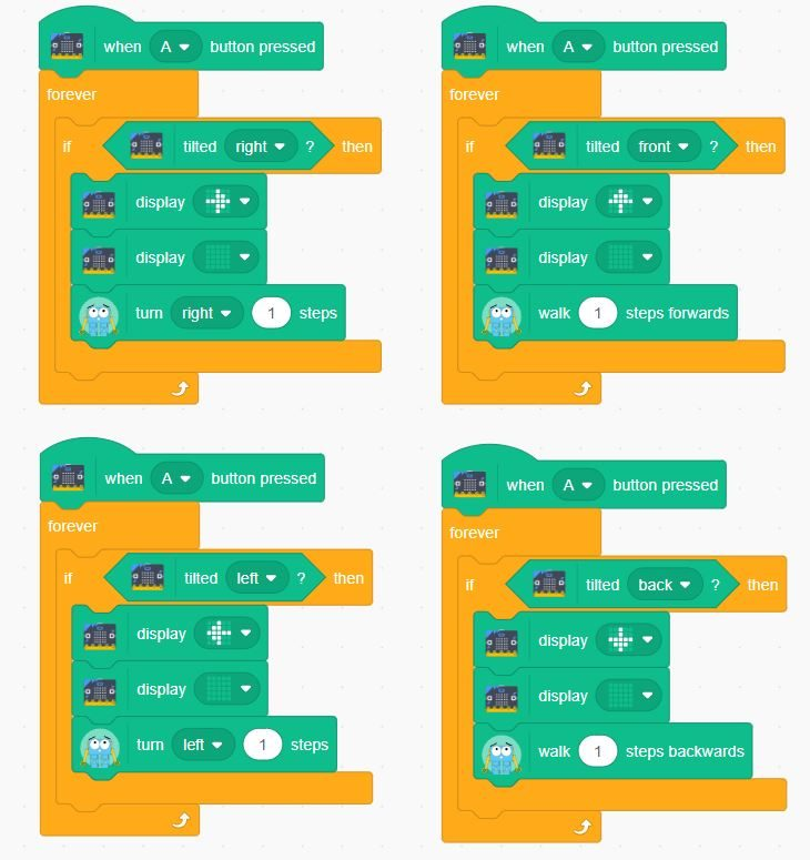 Robotical :: Scratch 3 - MicroBit and Marty
