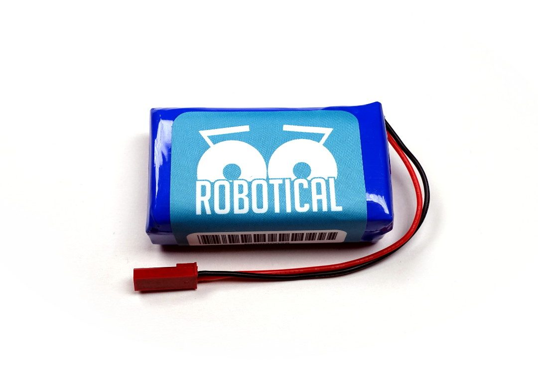 LiPo Battery 1400mAh 7.4v 2 Cell  image 1